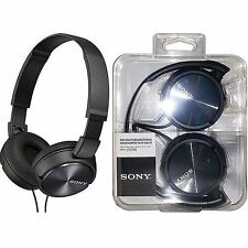 Sony MDR-ZX310 BLACK Wired Headphones Lightweight Adjustable Headband Swivel