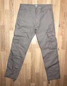 CARHARTT WIP Men's Regular Cargo Trousers Pants Size W34 L32