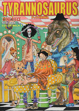 One Piece Eichiro Oda illustration Art Book Color walk 7 TYRANNOSAURUS JAPAN