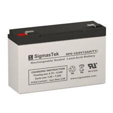 Raion Power RG0612T1 6 Volt 12 Amp Hour Replacement Battery
