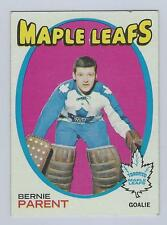 1971-72 TOPPS # 131 BERNIE PARENT WITH  NICE CARD