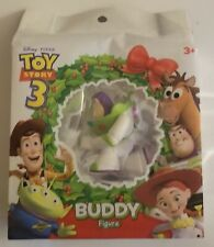 New Disney Pixar Toy Story 3 Buzz Lightyear Buddy Figure Minifig Holiday Pack