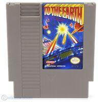 Nintendo NES Spiel - To the Earth PAL-B Modul