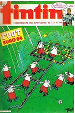 B19- Tintin N°457 Football Euro 84,Caragal