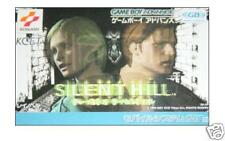 SILENT HILL Gameboy Advance GBA Import Japan 1