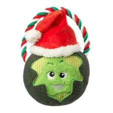 House of Paws Christmas Sprout Rope Dog Toy   Squeaky Festive Xmas Large XL