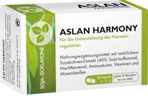 ASLAN Harmony - mit Soja Isoflavonen für das Wohlbefinden der Frau Wechseljahre