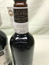 Goose Island BOURBON COUNTY BRAND STOUT 2017 FLAVORFUL!! One Bottle new