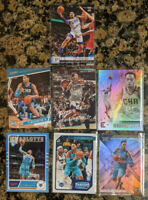 Lot of 7 PJ Washington Jr 2019-20 Panini Chronicles Rookie Cards XR Luminance