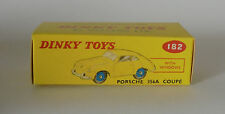Repro box DINKY Nº 182 porsche 356 a coupé beige