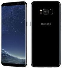 Samsung Galaxy S8+ Plus G955F 64GB Midnight BLACK FACTORYUNLOCKED SMARTPHONE NEW