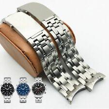 20 22 Silver Stainless Steel Bracelet For omega Planet Ocean 007 Seamaster 300