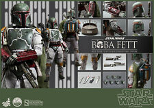 BOBA FETT Sideshow 1/4 Scale Figure Hot Toys Episode VI Return Jedi Star Wars