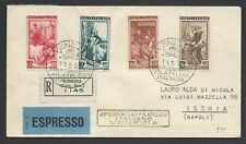 STORIA POSTALE REPUBBLICA 1953 Espresso da Venezia a Ischia (C5)