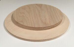 49,71€/m² Birke Multiplex 12mm Runde Holzplatte Tischplatte Sperrholz Scheibe