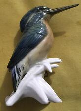 More details for vintage karl ens 'kingfisher' #7519 porcelain bird figurine