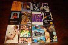 PRINCE huge lot of 14 cassettes LoveSexy Graffiti Bridge 1999 Purple Rain Around
