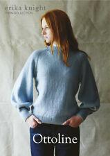 Erika Knight Ladies Sweater Knitting Pattern Ottoline In DK (British Blue 100)