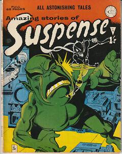 UK Comic: Amazing Tales of Suspense #75 Alan Class & Co 1964 Classic Sci Fi