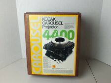 Kodak Carousel 4400 Slide Projector - W/Box w/ focus & Remote - Read Details