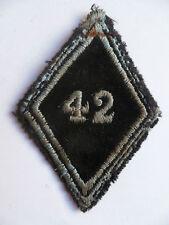 Losange tissu Losange 45 Patch modèle 1945 42° TRANSMISSIONS ORIGINAL