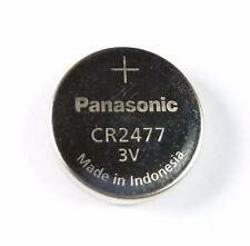 5 x Panasonic CR2477 CR 2477 3V Lithium Button Cell Batteries