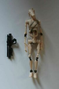 Star Wars 2007 30th Anniversary Collection Battle Droid Dirty Variant Legends