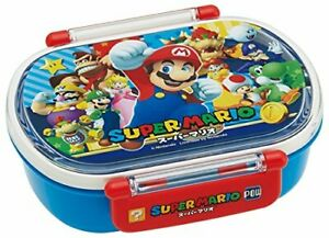 Skater Lunch Box 360 ml Bento Box Super Mario 17 Made in Japan QA2BA