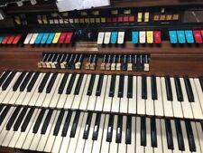 Hammond Colonnade Organ, Model number 333272, Walnut & Foot Pedal
