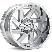 22 Inch Chrome Wheels Rims Chevy 5 Lug Truck LIFTED Jeep Wrangler JK MO988 22x10