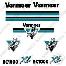 Vermeer BC1000 XL Chipper Decal Kit
