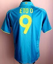 BARCELONA FC 2007 2008 HOME SPAIN NIKE FOOTBALL SHIRT JERSEY CAMISETA ETO'O