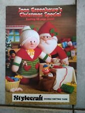 JEAN GREENHOWE'S - CHRISTMAS SPECIAL - DOUBLE KNIT knitted toy PATTERN BOOKLET