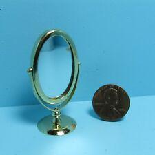 Dollhouse Miniature Pedestal Mirror for Bathroom or Bedroom ~ IM65625