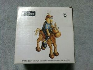 Wupper Airlines Wooden Crazy Jumpers Lucky The Horse Bouncing Mobile