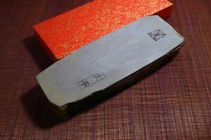 Japanese Natural Whetstone Shohonyama Ohira Asagi 30' Size 1177g from Japan