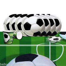 Fútbol Niños Fiesta De Cumpleaños De Completo Vajilla Kit Set Pack De 8