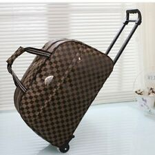 Cabin Approved Wheeled Travel Trolley Hand Luggage Suitcase Duffle Holdall Bag