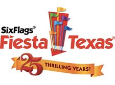 SIX FLAGS FIESTA TEXAS Ticket $39 Discount Savings MEAL + FREE PARKING PROMO