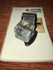 Conair Acrylix Silver & Black Hair Cubes Ponytail Holder NEW