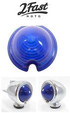 Custom Blue Lens for Bullet Zeppelin Light Triumph BMW Winker Blinker Flasher