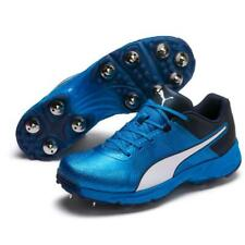 PUMA 19.1 BLUE AZURE-PEACOAT CRICKET SPIKE SHOES UK 9