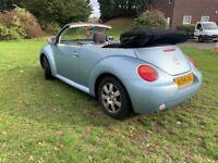 54 Plate  VW Beetle 1.6i Convertible    !! NO RESERVE !!