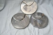 3 Cuisinart Discs for Dlc-7: Dlc-033 (3x3mm) 044 (4mm) and 048 (8mm) 3G