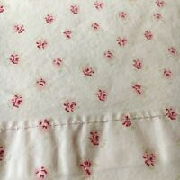 Simply Shabby Chic MON AMI Standard Pillowcase PINK Rosebuds