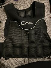 CAP 20 lb. Adjustable Weighted Vest Lightly Used