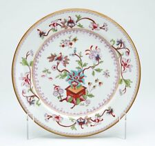 ANTIQUE ROYAL WORCESTER FLORAL CABINET PLATE 1879