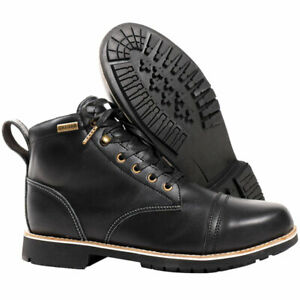 OXFORD 'DIGBY' 100% WATERPROOF SHORT LEATHER BOOTS SIZE 9 EUR 43 RRP £129.99