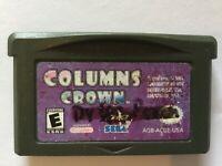 Columns Crown (Game Boy Advance) GBA USED