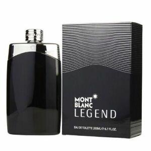 Mont Blanc Legend Men 6.7oz 200ml Eau De toilette Spray New Sealed Box